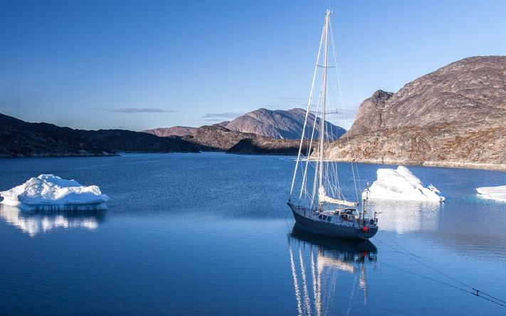 Aluminium explorer sailing yacht Hutting Yachts