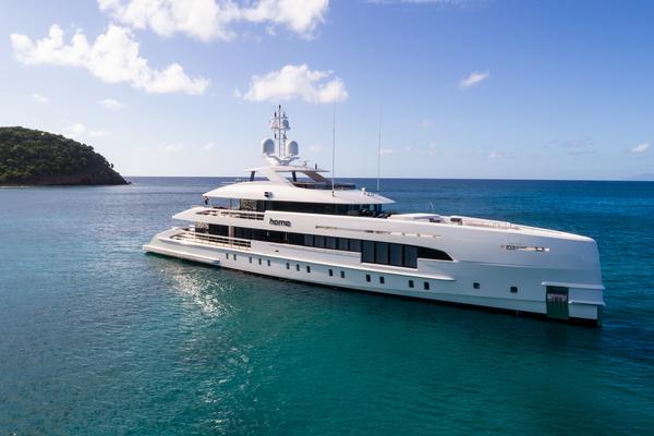 Home 50-metre Hybrid yacht