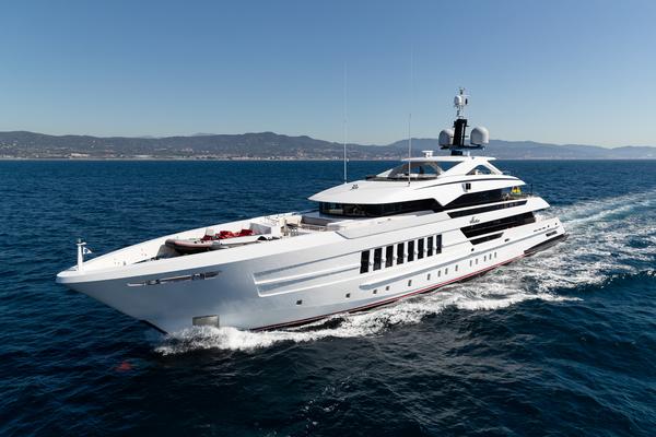 Vida 55-metre steel yacht