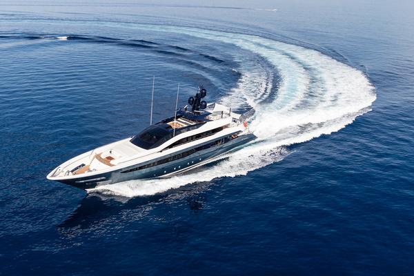 Irisha 51-metre custom yacht